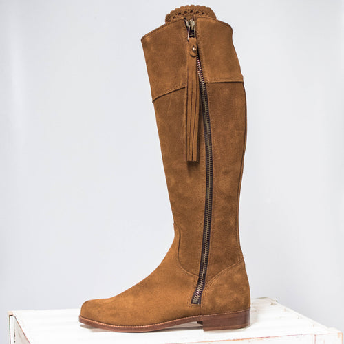 Herce Valverde Tan Leather Boots