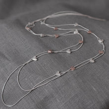 Rose Gold Multi Heart Necklace