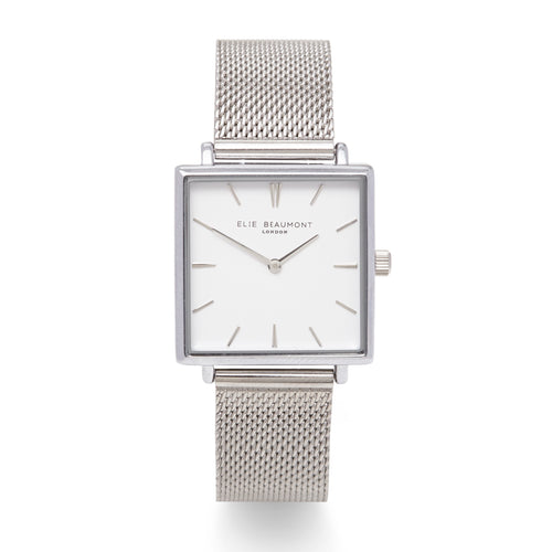 Bayswater Watch Silver Mesh