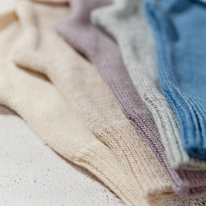 Cashmere Blend Hand Warmers Denim