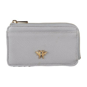 Grey Bee Coin Purse