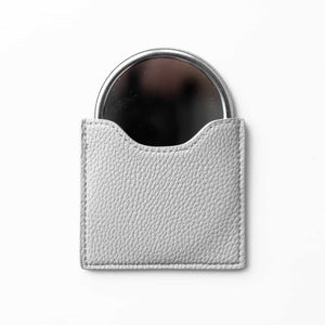 Grey Bee Pouch Mirror