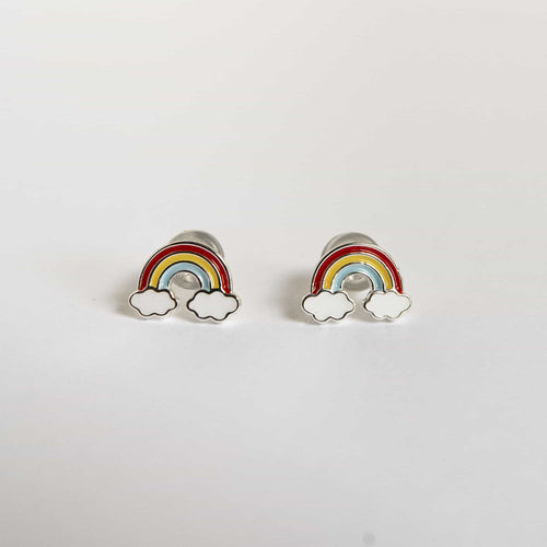 Girls Rainbow Earrings