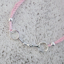 Friendship Bit Bracelet Baby Blue