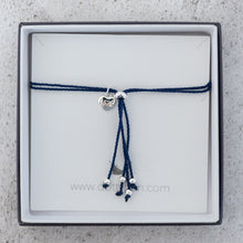 Friendship Bit Bracelet Navy Blue