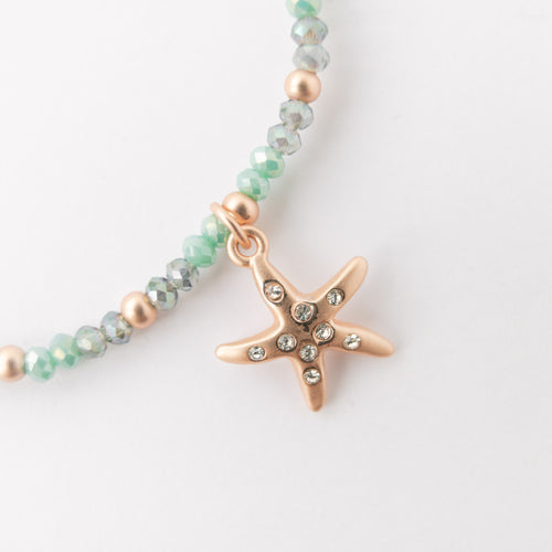 Rose Gold Starfish Bracelet