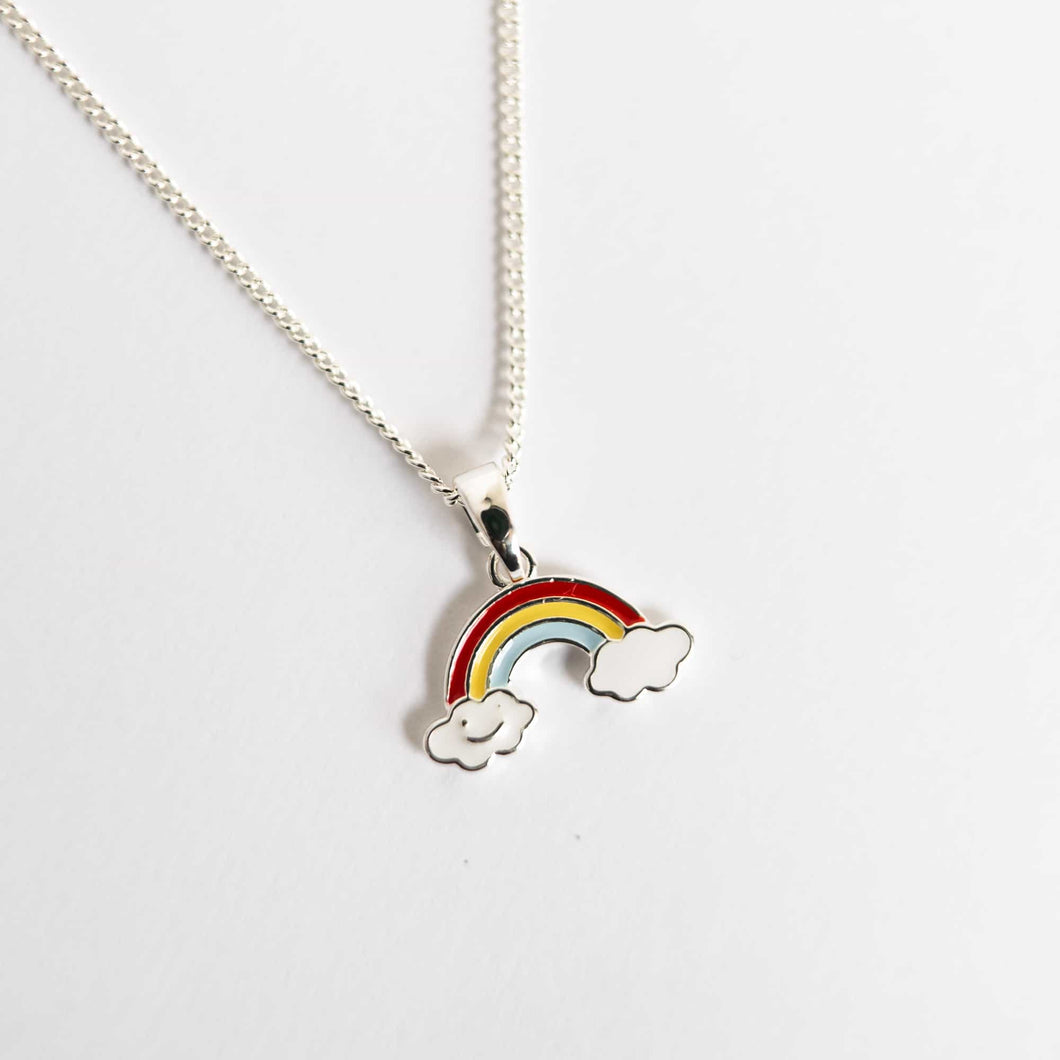 Girls Rainbow Necklace