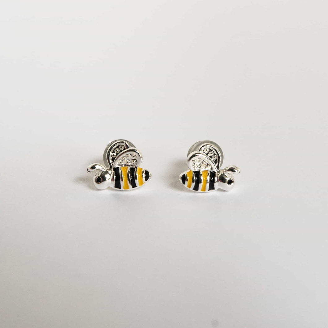 Girls Bumble Bee Earrings
