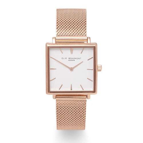 Bayswater Watch Gold Mesh