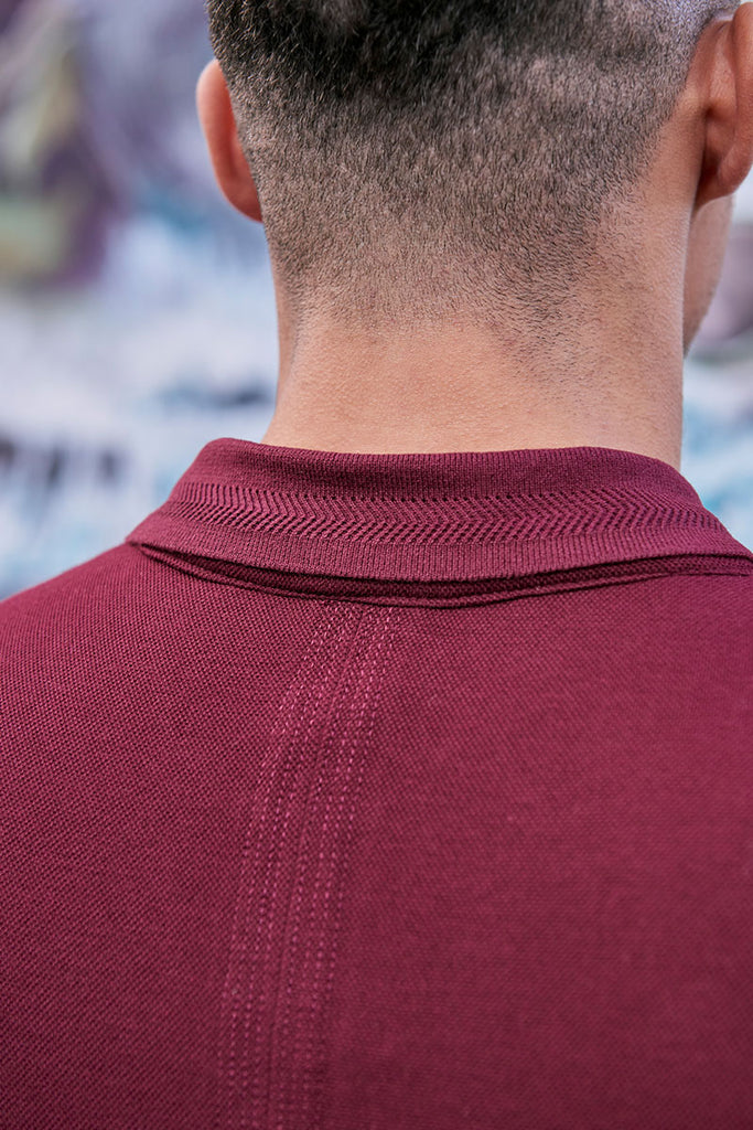 Cassino Polo Maroon