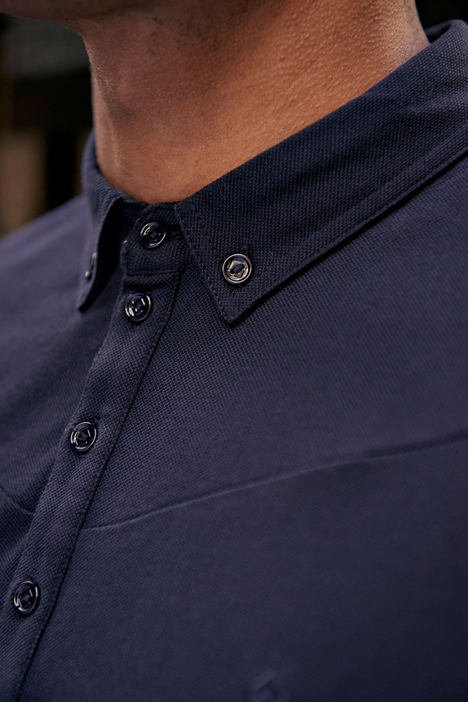 Edgemoor Polo Navy