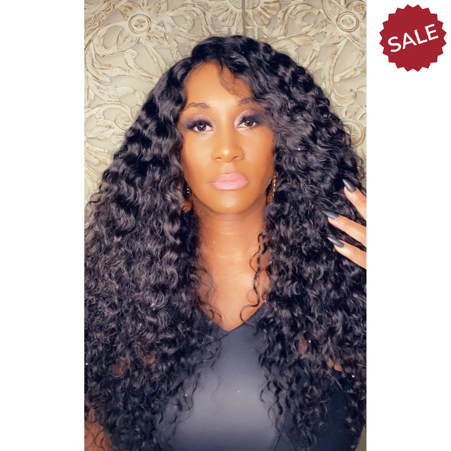 New Custom Sample Thin Lace Front Wig