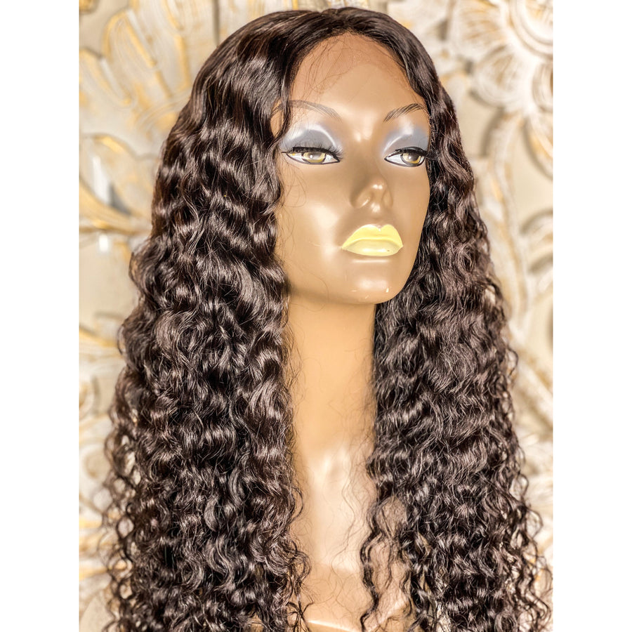 New Soft Wave/ Curly Custom Thin Lace Front Wig 22-24in
