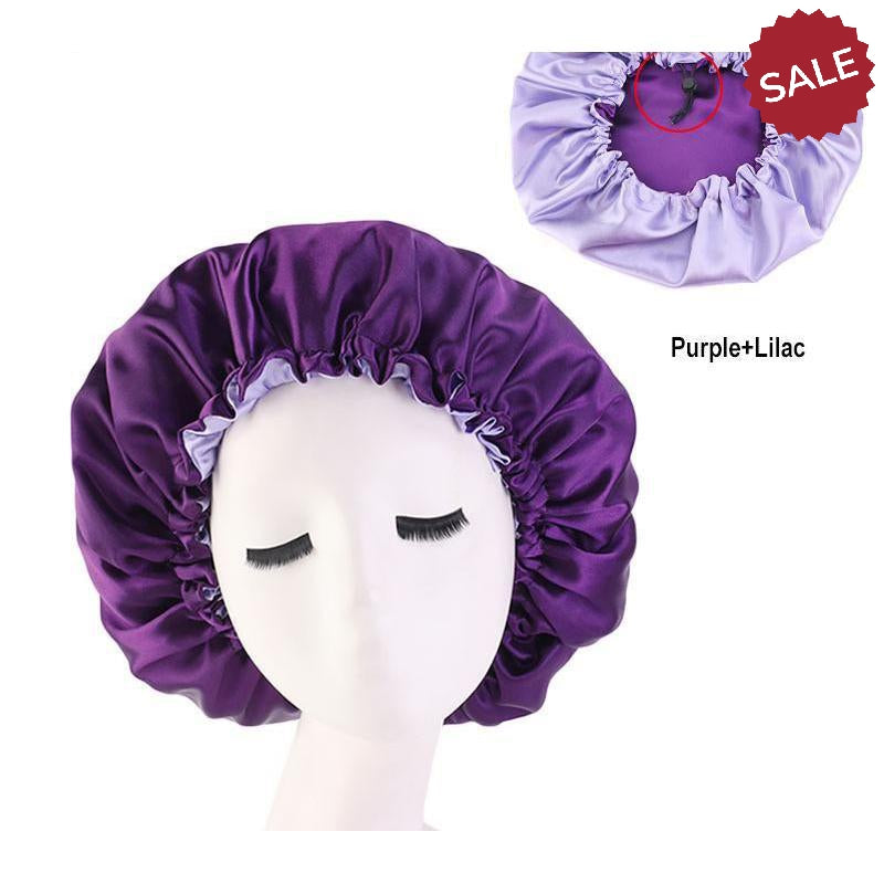Silk Double Sided Hair Bonnets