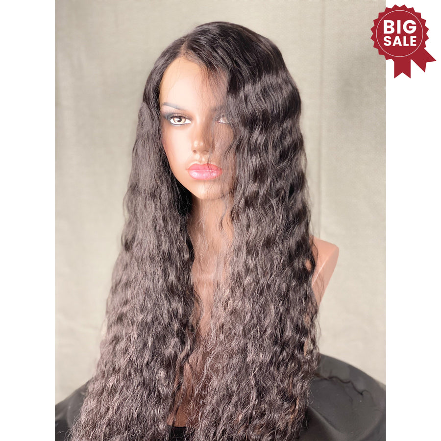 """Sasha"" 24in Custom HD Ultra Thin Lace Front"