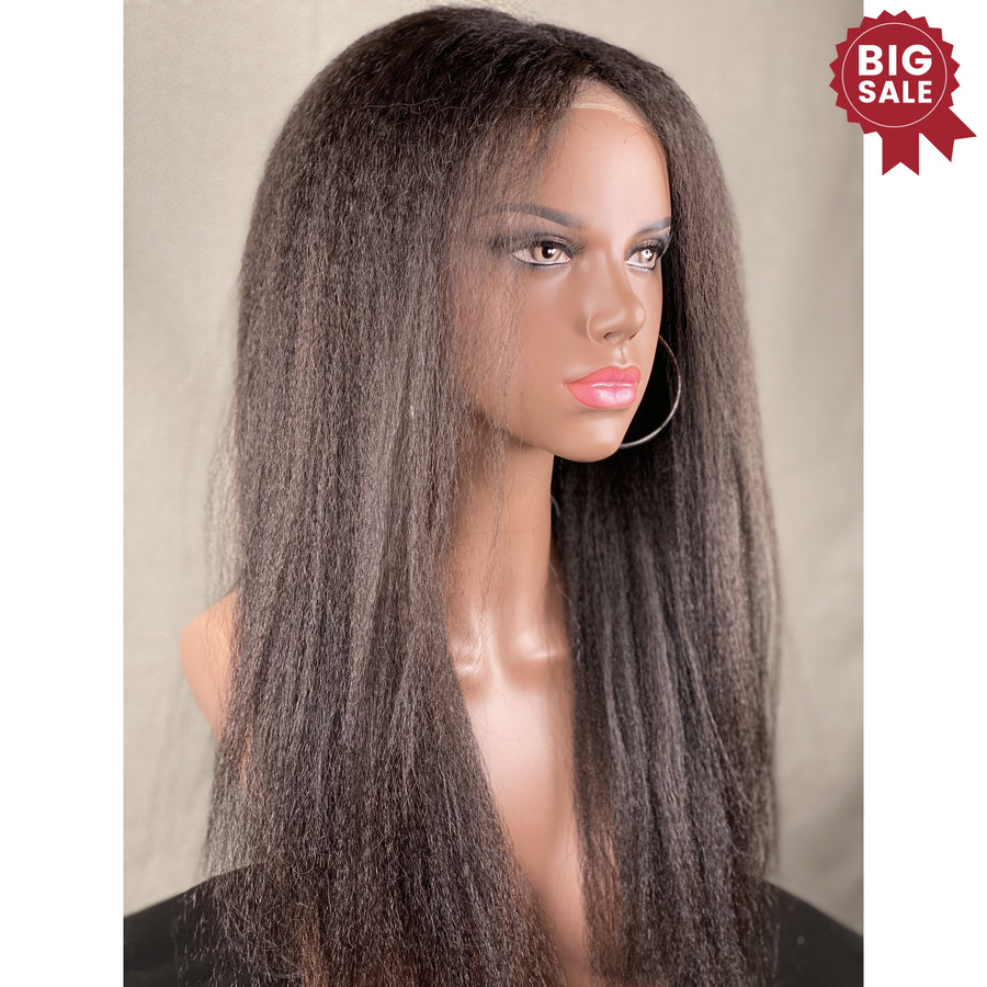 New Ultra thin lace 40% textured Hair Wig