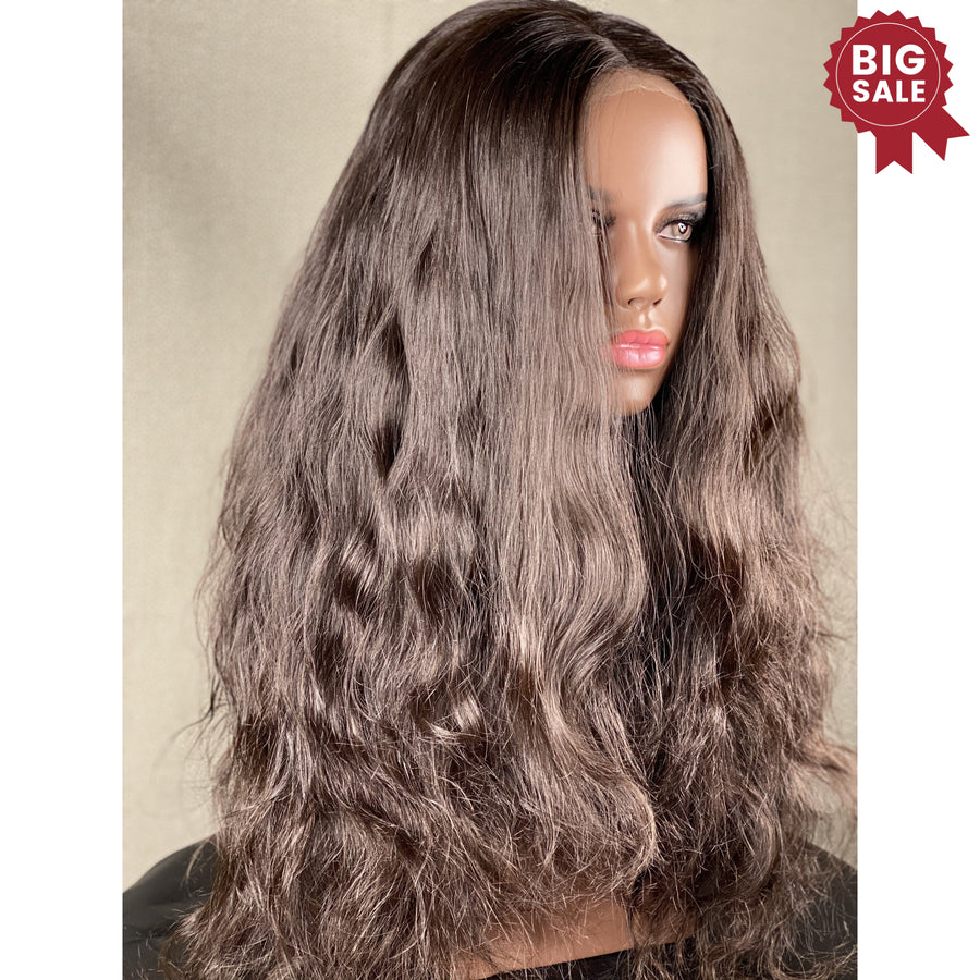 SOLD OUT! Ultra Thin Lace Front Indian Hair 23in