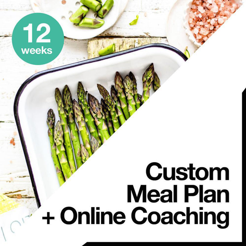 12 Week Custom Meal Plan + Online Coaching