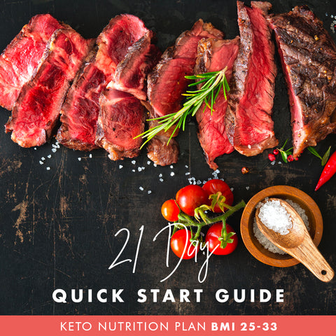6 Week Budget Dairy Free Keto Shred for Men