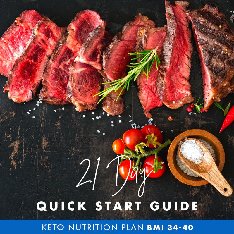 21 Day Quick Start Guide – Keto (BMI 34-40)