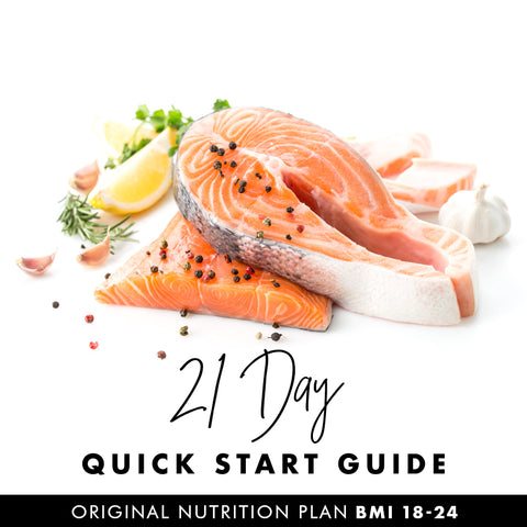 21 Day Quick Start Guide – Vegan (BMI 25-33)