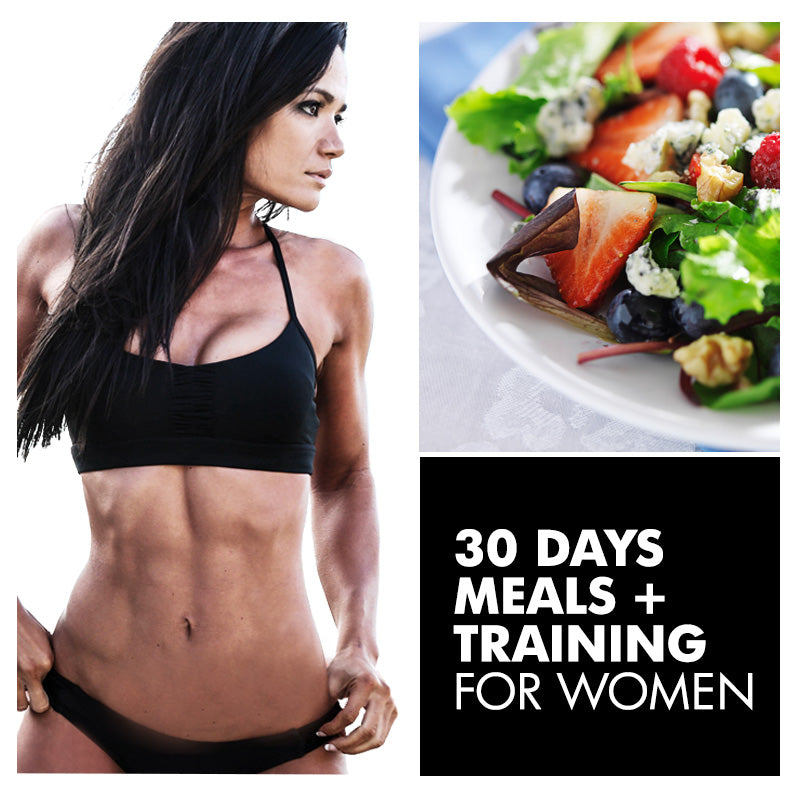 30 Day Custom Meal Plan + Custom Training Plan