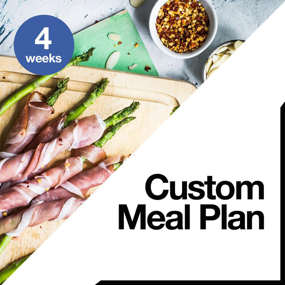 4 Week Custom Meal Plan