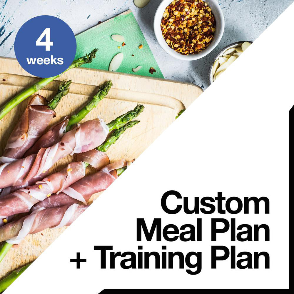 4 Week Custom Meal Plan + Training Plan