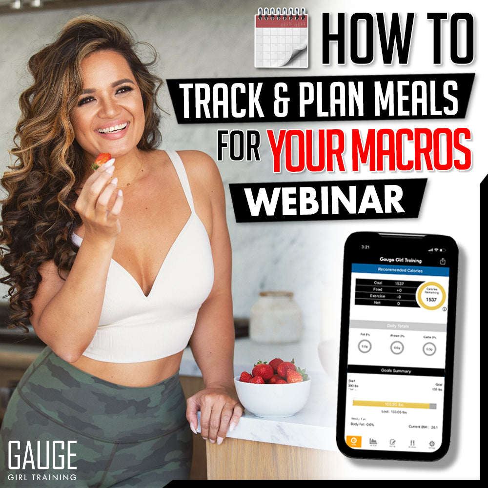 WEBINAR - How To Track & Plan For Your Macros