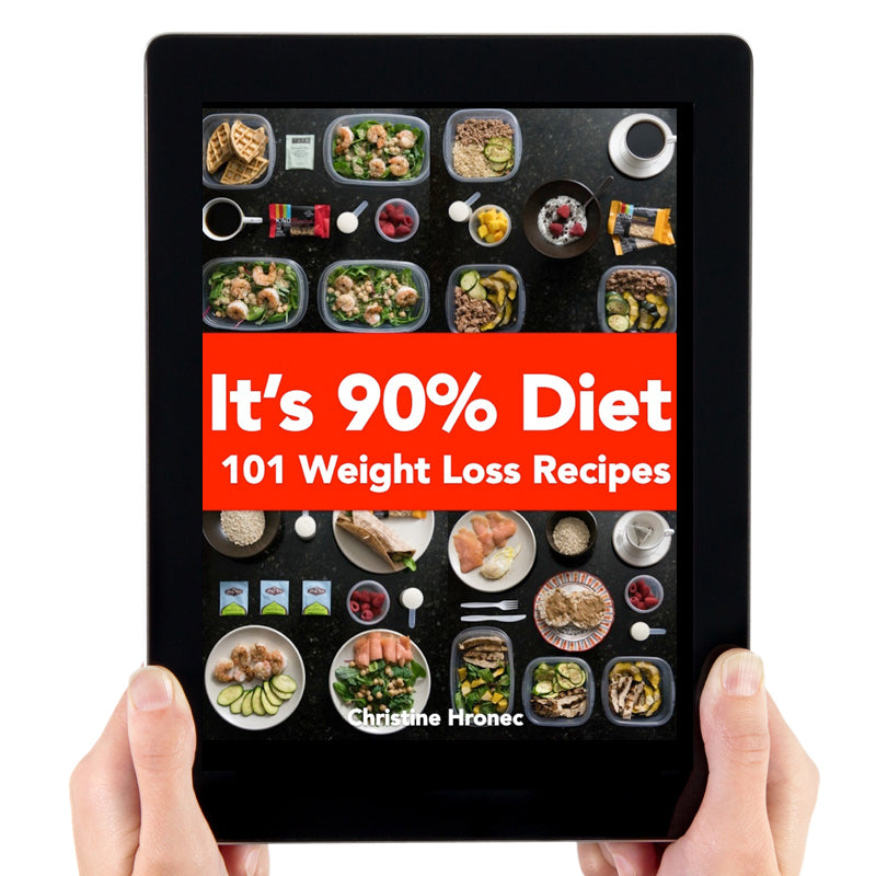 It's 90% Diet- 101 Weight Loss Recipes