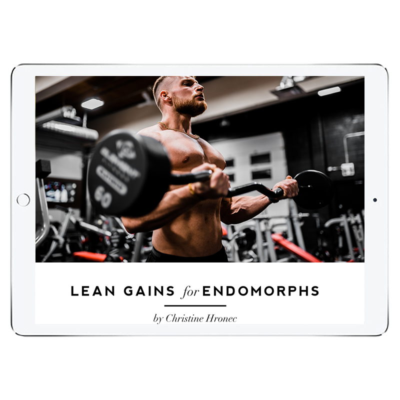 Lean Gains Endomorph Meal Plan - Men's