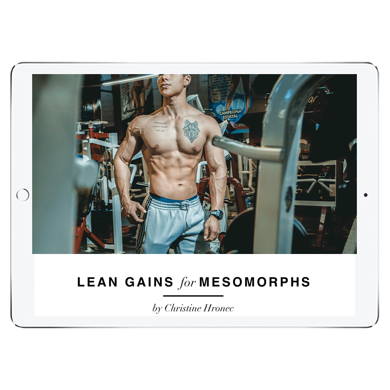 Lean Gains Mesomorph Meal Plan - Men's