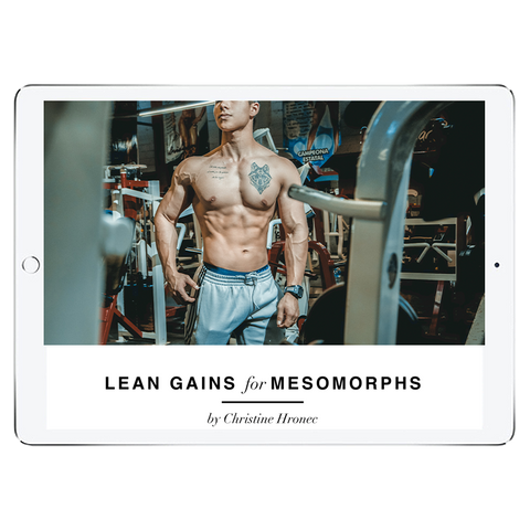 Lean Gains Ectomorph Meal Plan - Men's