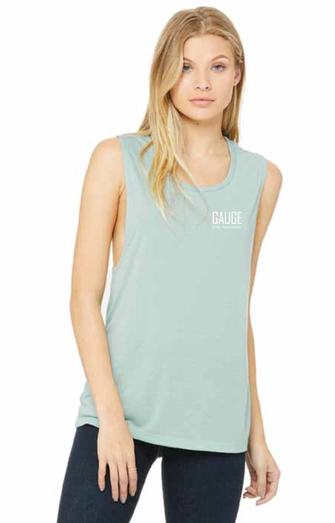 Gauge Girl Flowy Scoop Muscle Tank