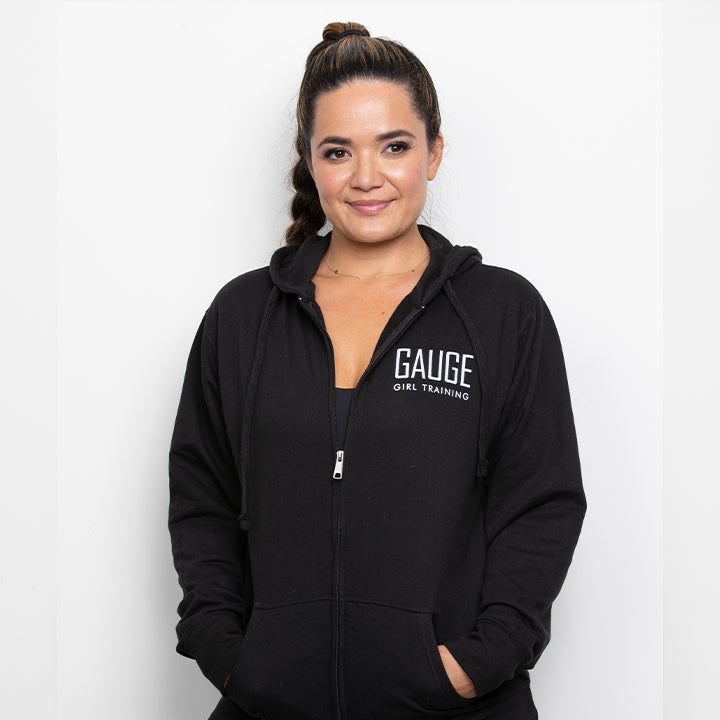 Gauge Girl Zip-up Hoodie