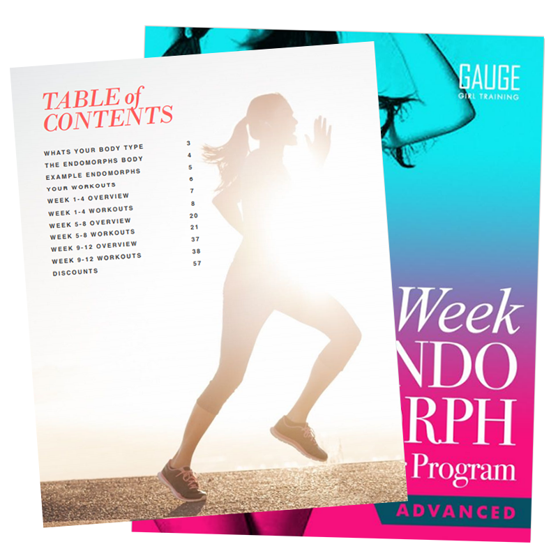 12 Week Endomorph Advanced Gym Training Plan