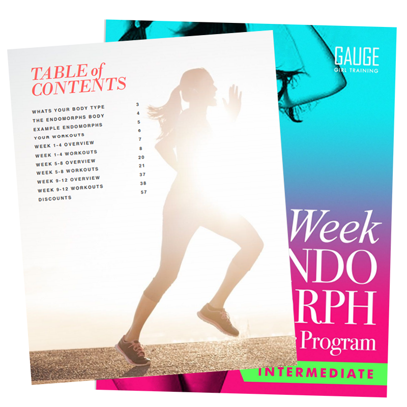 12 Week Endomorph Intermediate Gym Training Plan