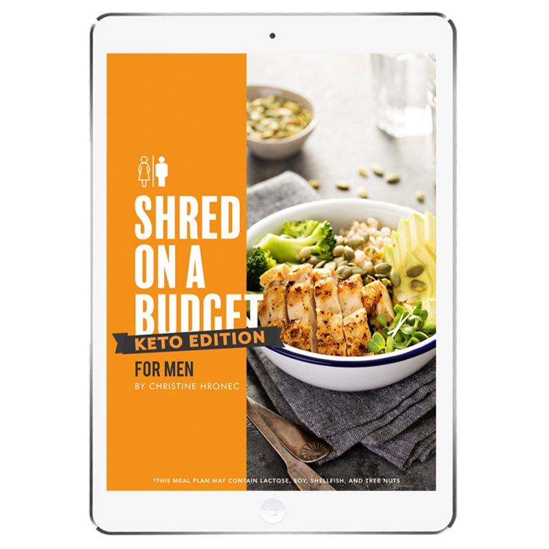 The 6WeekShred® - 6 Week Budget Keto Shred for Men