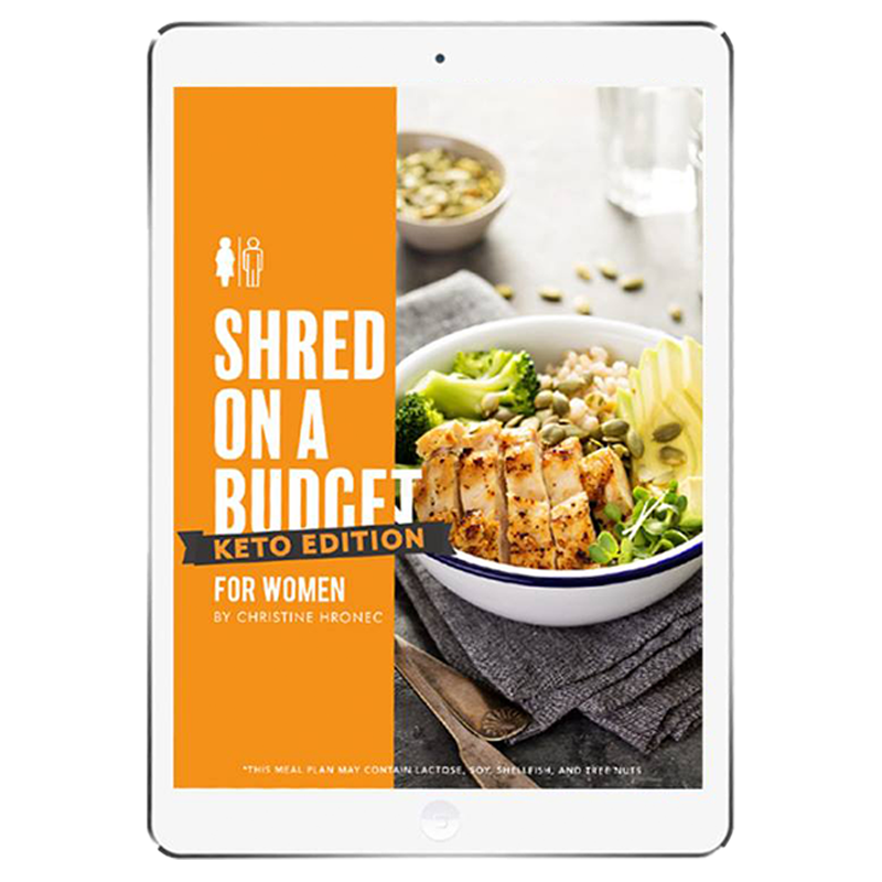 The 6WeekShred® - 6 Week Budget Keto Shred for Women
