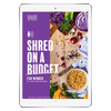 The 6WeekShred® - 6 Week Pescatarian Budget Shred for Women