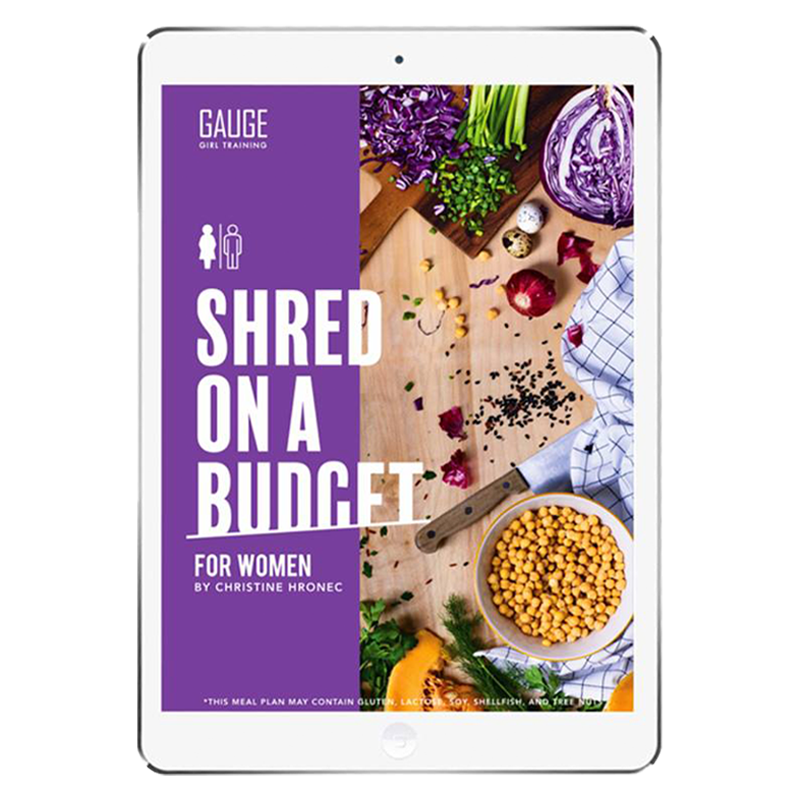 The 6WeekShred® - 6 Week Budget Shred Original for Women