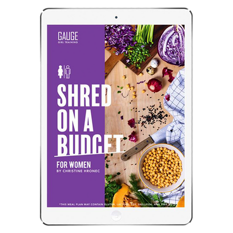 The 6WeekShred® - 6 Week Italian Keto Budget Shred for Women