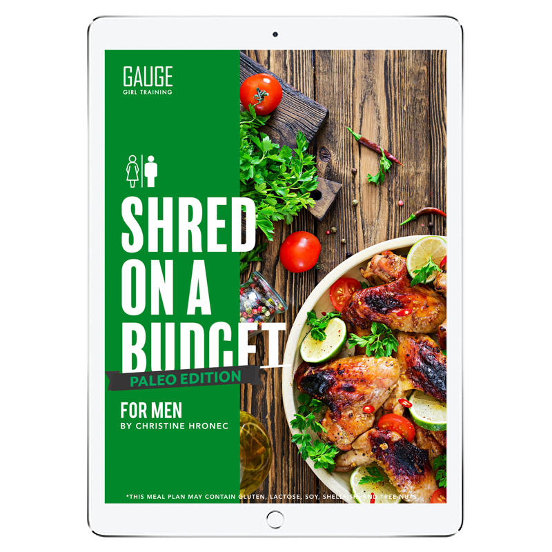 6 Week Budget Paleo Shred for Men