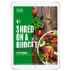 The 6WeekShred™ - 6 Week Budget Vegetarian Shred for Women