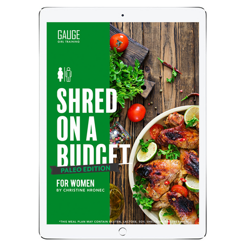 6 Week Budget Vegetarian Shred for Men