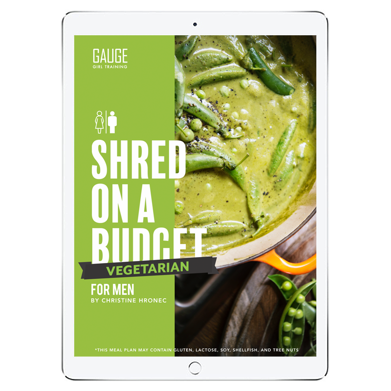 The 6WeekShred® - 6 Week Budget Vegetarian Shred for Men