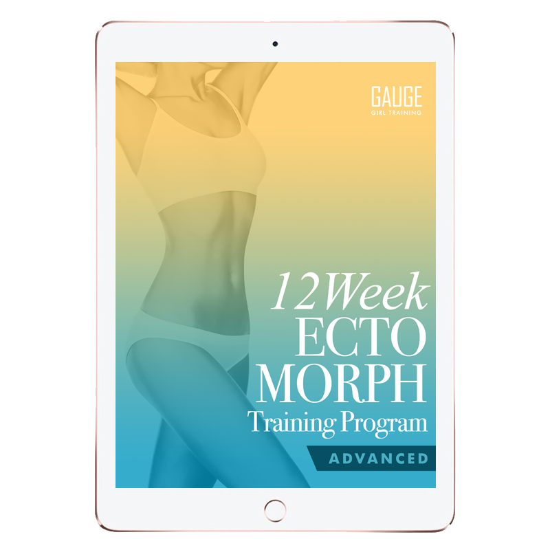 12 Week Ectomorph Advanced Gym Training Plan