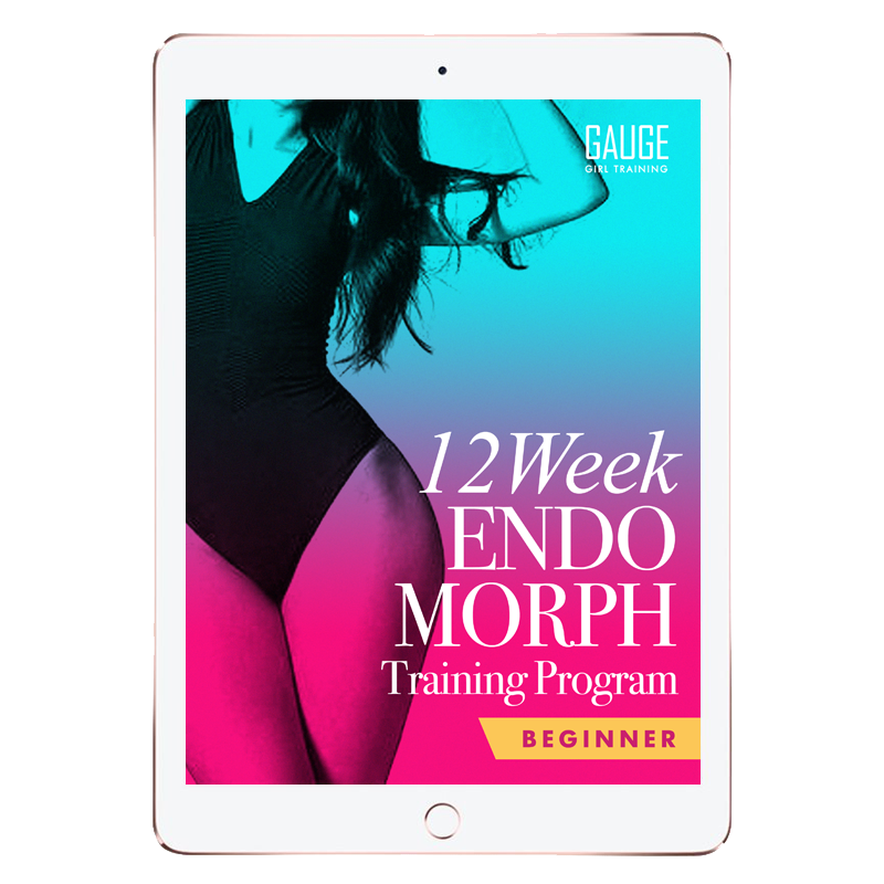 12 Week Endomorph Beginner Gym Training Plan