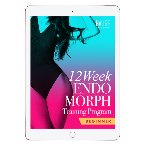 12 Week Ectomorph Beginner Gym Training Plan