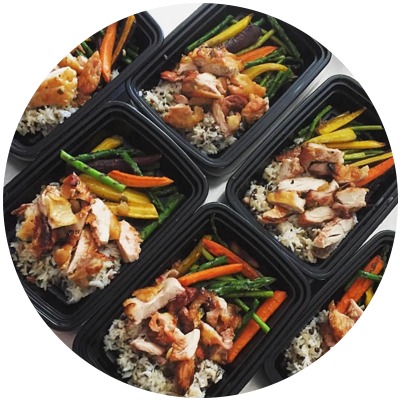 6 Week Custom Meal Plan + Custom Training Plan + Online Coaching